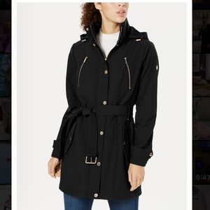 🖤 Michael Kors belted trench raincoat